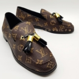 Женские лоферы Louis Vuitton кожа