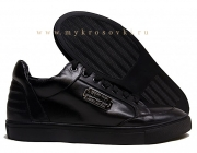 Кроссовки Philipp Plein Black с мехом